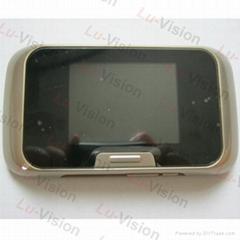 Motion Detect Recording Peephole Electronic Digital Door viewer/ Doorbell&IR