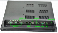 onboard cpu rugged fanless panel pc