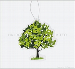 hanging paper air freshener for car (P-004-005 )