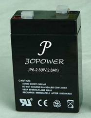 Solar GEL Battery 6V2.8Ah