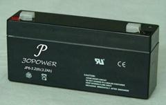 Solar lead acid battery 6V3.2Ah