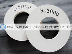 Italy quality X5000/X3000 polishing wheel for flat glass polishing