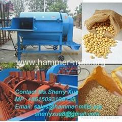 Popular soyabean thresher machine,wheat huller,paddy rice sheller machine