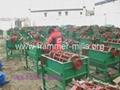 Popular soyabean thresher machine,wheat huller,paddy rice sheller machine 3