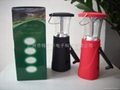 solar&hand dynamo flashlight/camping light 1
