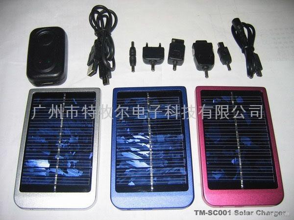 便携带大容量太阳能充电器 1