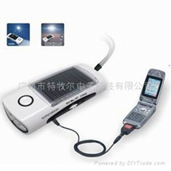 T001 Solar Flashlight Radio