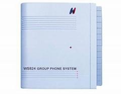 国威WS824集团电话交换机