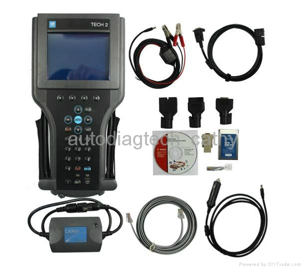Wholesale Promotion GM Tech 2 Deluxe Kit with Candi Flash Diagnostic Scan Tool 1