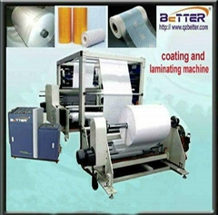 Adhesive sticker coating machine
