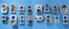 Aluminum die casting parts for power