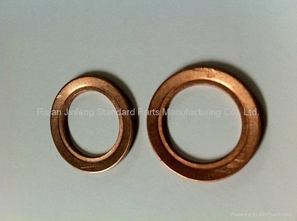 Copper Lock Washer : Beryllium copper belleville washer china nuts bolts