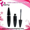 Cosmetic plastic mascara bottle