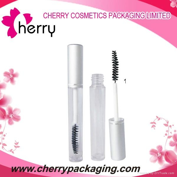 Cylinder shaped empty plastic comsetic container mascara container  1