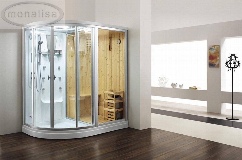 MONALISA Acrylic Steam Room sauna suit pvc sauna suit M-8251 for ...