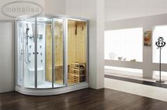 MONALISA Acrylic Steam Room sauna suit pvc sauna suit M-8251 for distributors