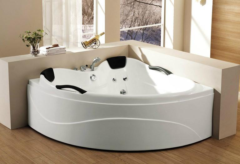 Monalisa acrylic trong nhà bồn tắm cabin massage bồn tắm bể sục giá rẻ M-2005 1