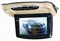 10.1'' roof mount car dvd player monitor with 32bit games