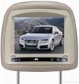 8寸专款高清数字屏车载头枕AV
