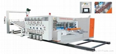 TS-PY HIGH SPEED FLEXO PRINTING & SLOTTING & ROTARY DIE-CUTTING MACHINE