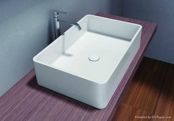 Stream Acrylic Bathroom Sink Pb2057 3