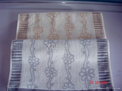 Jacquard Dyed Face Towel