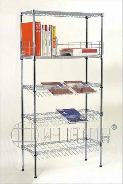 Steel Book Rack Book Shelf Bookcase Cj B1128 Welland