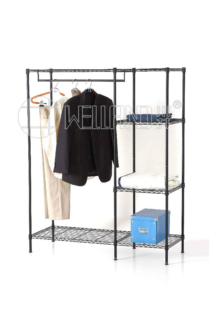 Modern Armoire Metal Bedroom Wardrobe Closet Furniture 1 ...