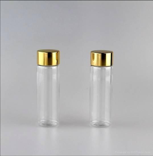 50ml Clear PET plastic vials 1
