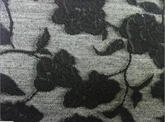 Knitting jacquard cloth