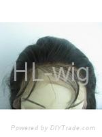 MONGOLIAN VIRGIN HAIR LACE WIG 4