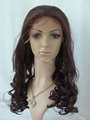 HEAT RESISTANT SYNTHETIC LACE WIG