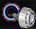 2.2inch colorful car Bi-xenon light/lamp lens,HID headlight projector