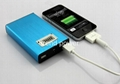2012 Newest battery charger with LCD monitor for Iphone 5,Ipad,camera, MP4
