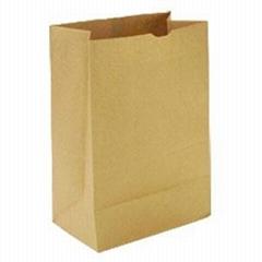 Kraft paper packing bags