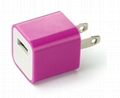 Color Wall USB Charger for iPhone/iPod