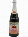 起泡苹果石榴汁