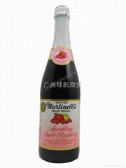 苹果木莓汁