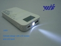 4500mAH cell phone battery charger with