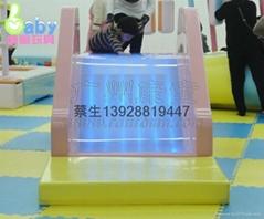 儿童乐园电动游艺设施瀑布滑梯