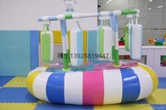 儿童樂園電動軟體類遊藝設施搖擺拳擊