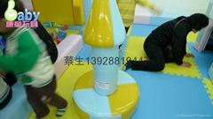 儿童乐园电动软体类游艺设施棒棒糖