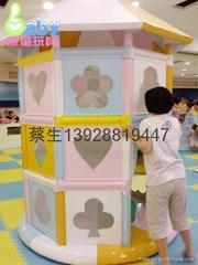 儿童樂園遊藝設施七寶蜘蛛塔