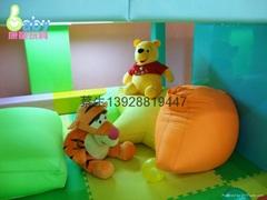 儿童樂園遊藝設施棉花倉庫