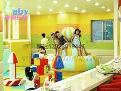 儿童乐园设备螺旋飞碟