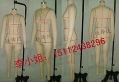 人體板房模特