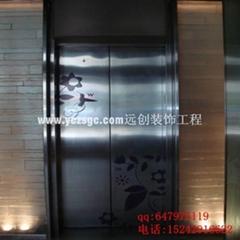 黑鈦不鏽鋼電梯門套