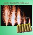 Flash fountain fireworks