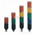 LTA504 led signal tower light steady with buzzer 85db 1
