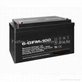supply 12V100AH Ups battery